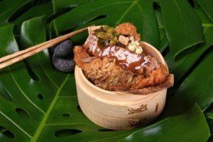 台南晶英酒店-「老罈酸菜牛肉粽」選用美國CHOICE等級無骨牛小排,頂級享受每顆260元。