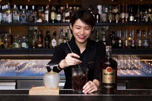 台南老爺行旅 Bar 21 新秀調酒師 蔡佳穎Grace